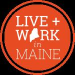 Live work Maine logo