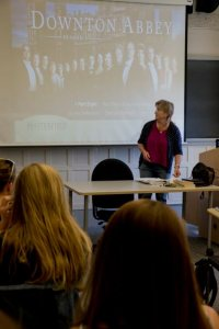 Lillian Nayder taught a short-term course on Downton Abbey
