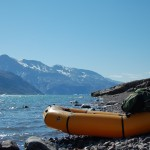 Josh and Brian  navigated the mountains and fjords between the villages of southern Greenland through backpacking and packrafting.