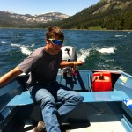 Alex Hamilton interning for Truckee Donner Land Trust