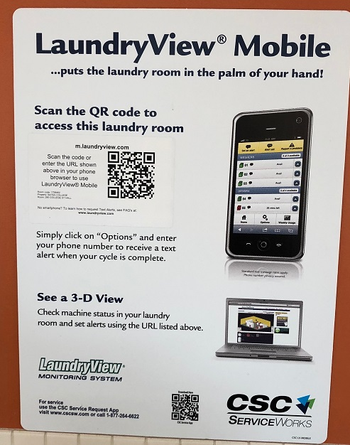 LaundryView Mobile Instructions