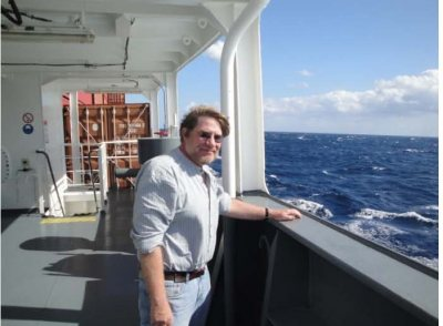 Aboard the freighter Independent Pursuit, 2009