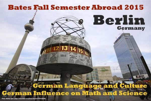 2015 Fall Semester Abroad in Berlin