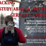 Unpacking the Study Abroad Experience: Germany and Russia