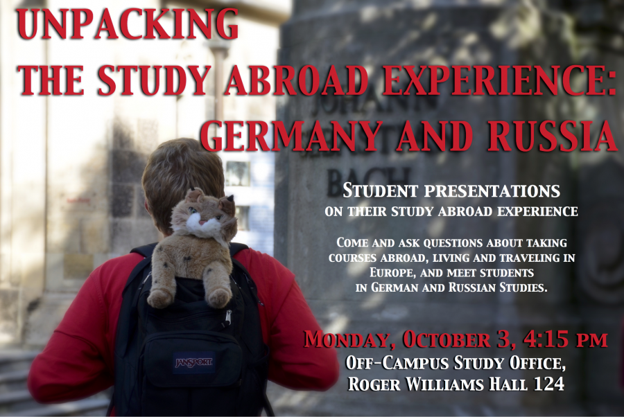 Unpacking the Study Abroad Experience: Germany and Russia | German