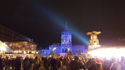 The Holiday Market in front of the Charlottenburg Palace, Berlin (Photo: Praneet Kang)