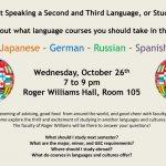 Language Advising Fair