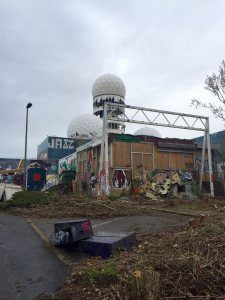 Teufelsberg, Berlin. (Photo: Greg Fitzgerald)