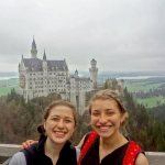 My IES friend and I at Neuschwanstein for an IES class trip (Photo: Ashley Braunthal)