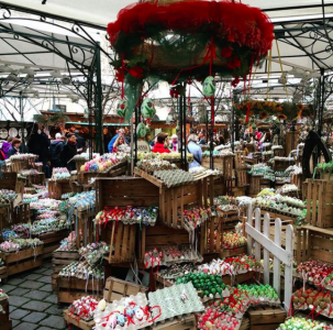 Altwiener Ostermarkt, Freyung, Vienna. Photo: Matthew Johnson