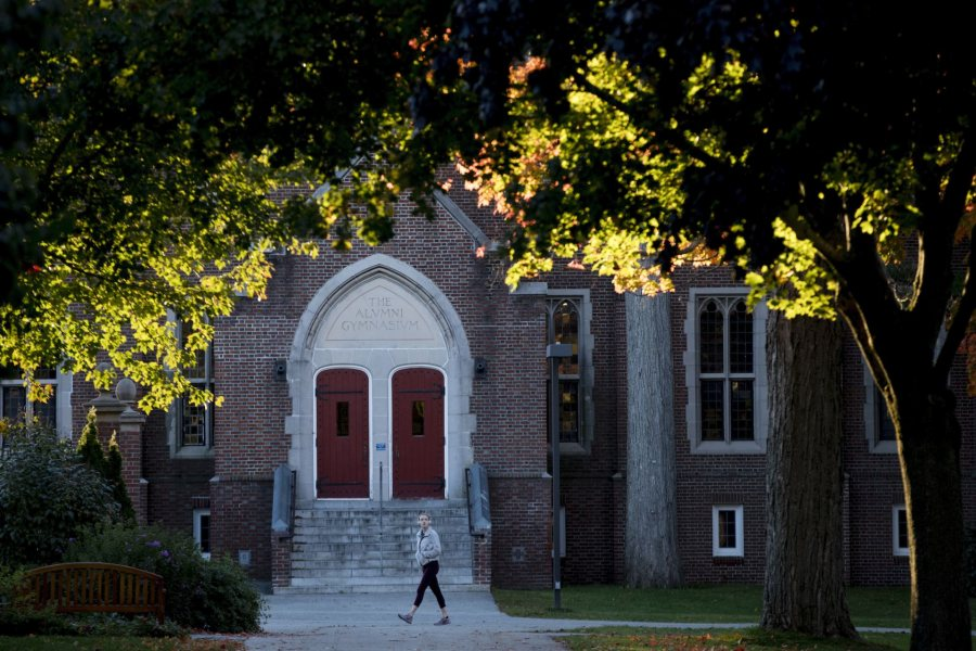 Back To Bates Weekend Campus scenes near the Library Quad, Chase and Carnegie Science halls on Friday, Oct. 5, 2018.