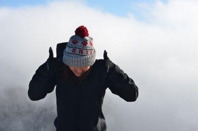 Alex Zink on Mount Olympus