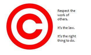 Sharing copyrighted materials?