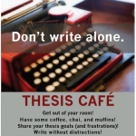 Join us for Thesis Café