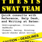 Thesis SWAT – Thursday, Dec 4th