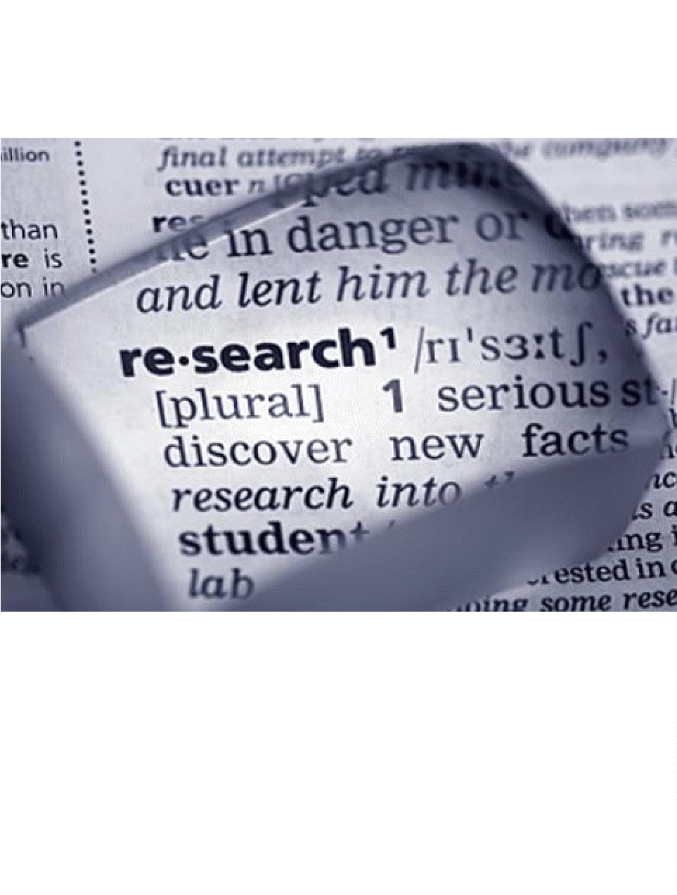 finding sources for research papers