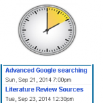 Research Tips in 10 minutes – This Week!
