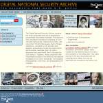 Digital National Security Archives