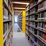 Ladd Library, for a series of banner pictures for the library's WordPress site.