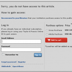 Ever hit a paywall?