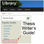 Thesis Writer Tips