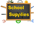 School Supplies Available for Checkout!