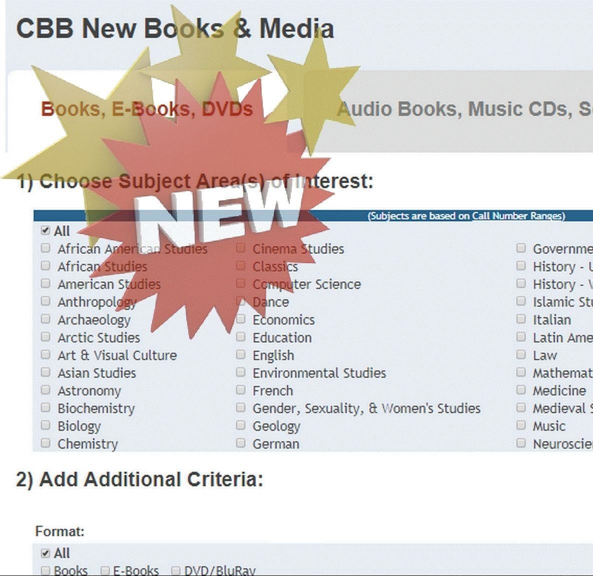 CBB New Books Search_090617c