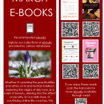 Featured Ebooks for March