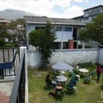 The CBB Quito program is housed in the Andean Center for Latin American Studies, whose garden in the rear faces the volcano Mount Pichincha. The center is the focal point of all CBB activities in Quito.