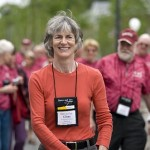 Ginny Harrison '63, a former admissions staffer, came from Fort Collins, Colo., for her 45th.