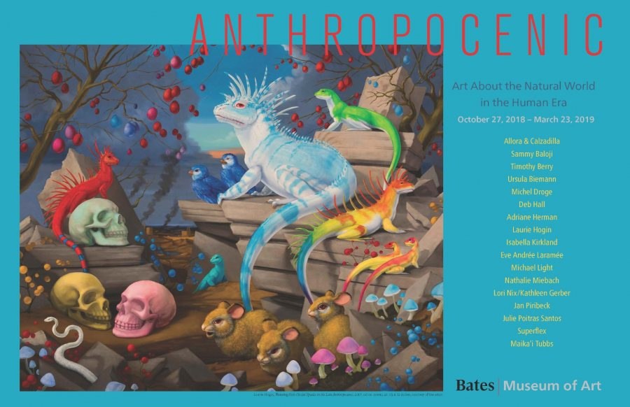 Anthropocenic: Art About the Natural World in the Human Era Poster
