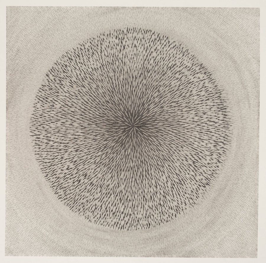 Amy Stacey Curtis, 20 Hour Drawing, 2010,grahite, 22.5x22.5 in for poster
