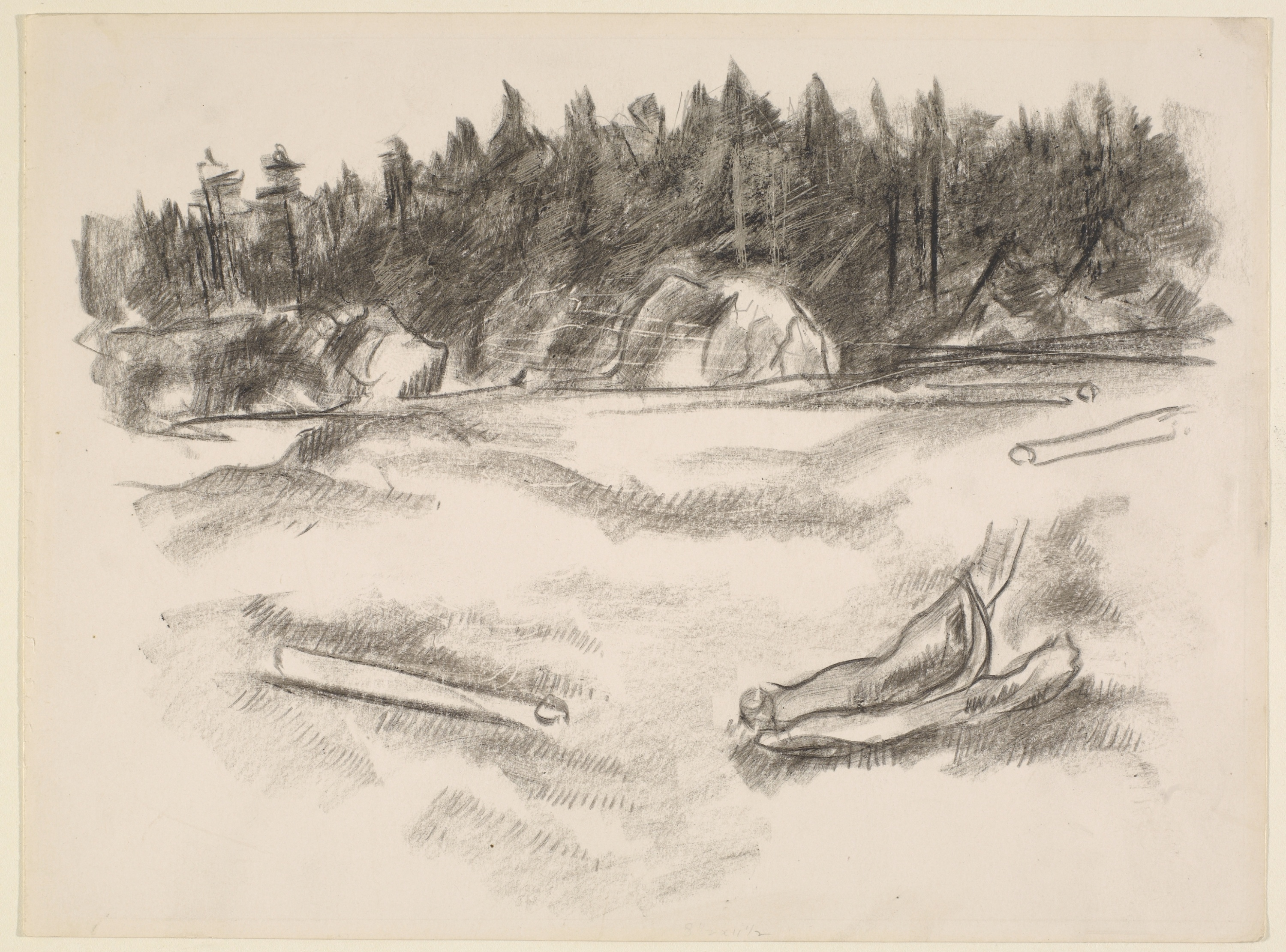 Landscape Drawings from the Marsden Hartley Memorial ...