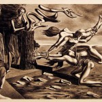 Federico Castellon,  The Gordian Knot,  1936, lithograph, Gift of Caroline Pulsifer Ehrenfest '39