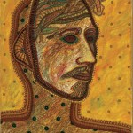 "Máscara, ""Mask,"" 1994, Oil on canvas"