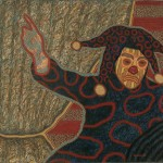 "Ríe Payaso, ""Laughing Clown,"" 1994, Acrylic on canvas"