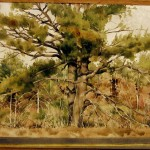 DeWitt Hardy, Untitled (Landscape With Two Trees)