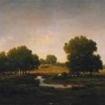 Theodore Rousseau, Souvenir du bois d'Arcy, pays de Lantara en Gatinais