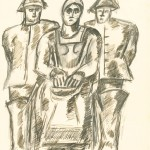 Untitled, Two Fishermen and Woman, c. 1938-39
