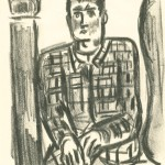 Untitled, Seated Man with Plaid Jacket, c 1938-39