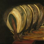 Jason Tsichlis, Piano Study No. 5, oil on linen