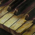 Jason Tsichlis, Piano Study No. 3, oil on linen