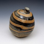 Paul Heckler, Vase, 2004, glazed stoneware