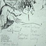 Helen O'Donnell, Tart, 2004, etching