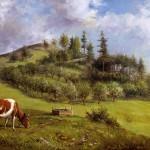 Delbert Dana Coombs, Mt. David 1860, 1901, Oil on canvas