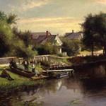 Delbert Danan Coombs, Near the Lewiston Fairgrounds, 1897, Oil on canvas
