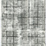 Olga Grigorenko, Untitled, ink on phone book paper