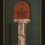 Abe Ajay, Construction 189, 1989, mixed media, 26 x 18 x 4