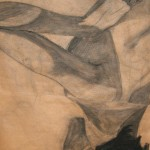 Christopher Childs, Untitled, charcoal on Kraft paper