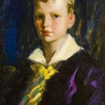 Robert Henri, Stephen Greene-1925, 1927, verso on canvas, oil on canvas  22 x 18 inches